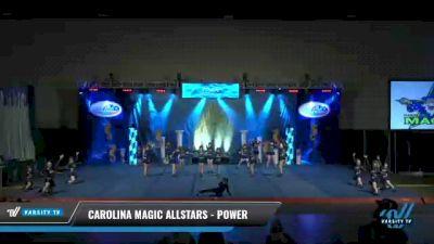 Carolina Magic Allstars - Power [2021 L2 Junior - D2 - Small Day 1] 2021 Return to Atlantis: Myrtle Beach