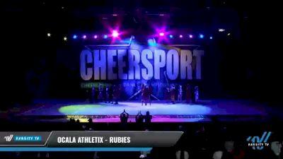 Ocala Athletix - RUBIES [2021 L2 Junior - D2 - Small - A Day 2] 2021 CHEERSPORT National Cheerleading Championship