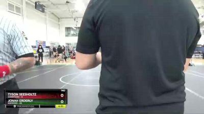 140 lbs Round 9 (10 Team) - Jonah Erderly, Hammers vs Tyson Seesholtz, ScrapYard