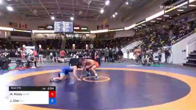 74 kg Consolation - Matt Moley, Warrior Wrestling Club vs Jessy Diaz, California