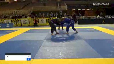 KATHERINE MARIE HASTINGS vs CASSANDRA FRANCES BAUMGA 2020 World Master IBJJF Jiu-Jitsu Championship