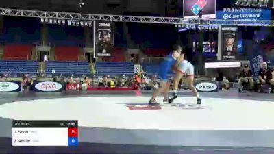 72 kg Rr Rnd 3 - Justus Scott, Legends Of Gold Las Vegas vs Zachary Revier, Minnesota