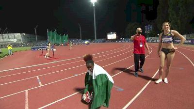 Women's 100m Hurdles - Tobi Amusan Runs 12.61