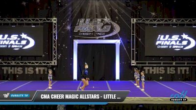 CMA Cheer Magic Allstars - Little Twinkles [2021 L1 Tiny - Novice - Restrictions Day 1] 2021 The U.S. Finals: Ocean City