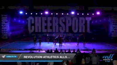 Revolution Athletics Allstars PANDEMONIUM [2021 Senior Coed 3 D2] 2021 CHEERSPORT: Atlanta Grand Championship
