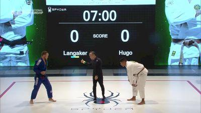 Tommy Langaker vs Victor Hugo +76kg Spyder Invitational BJJ Championship