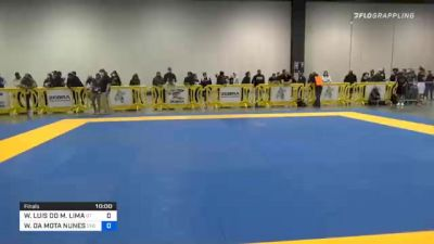 WASHINGTON LUIS DO M. LIMA vs WILLIS DA MOTA NUNES 2020 IBJJF Pan No-Gi Championship