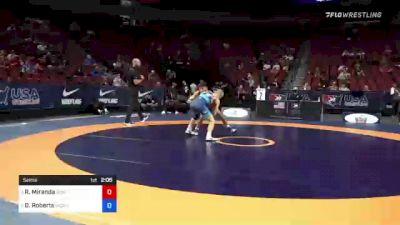 60 kg Semis - Randon Miranda, Rise RTC vs Dalton Roberts, Army (WCAP)