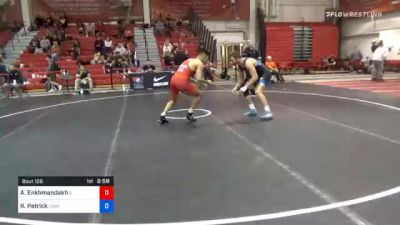 79 kg Prelims - Ankhaa Enkhmandakh, Illinois vs Robert Patrick, Cavalier Wrestling Club