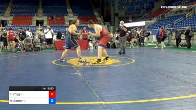 285 lbs Cons 8 #1 - Thor Zogg, Alabama vs Robbie Gentry, Indiana