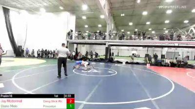 125 lbs Round Of 16 - Jay Mcdonnell, Dang Slick Wc vs Blase Mele, Princeton