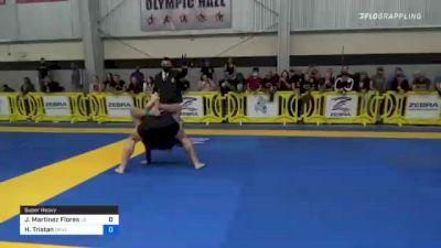 Justin Martinez Flores vs Tristan Kolby Overvig 2021 Pan IBJJF Jiu-Jitsu No-Gi Championship