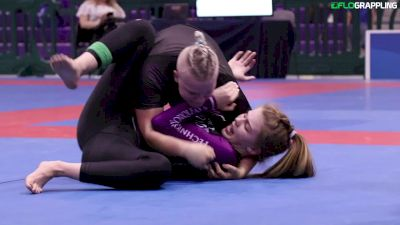 Pan No-Gi Champ Elisabeth Clay is Unstoppable!