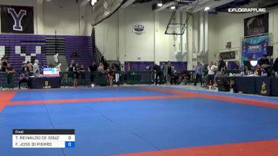 THIAGO REINALDO DE SOUZA vs FERNANDO JOSE DI PIERRO 2019 Pan IBJJF Jiu-Jitsu No-Gi Championship