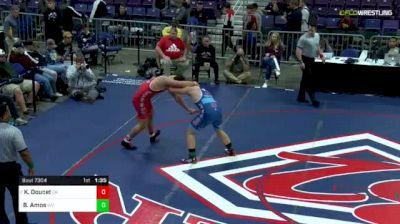 220lbs Final: Konner Doucet, Oklahoma vs Braxton Amos, West Virginia