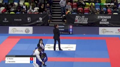 Alex Cabanes vs Victor Moraes 2018 Abu Dhabi Grand Slam London