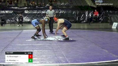 165 lbs Consolation - Danny Braunagel, Illinois vs Kennedy Monday, North Carolina