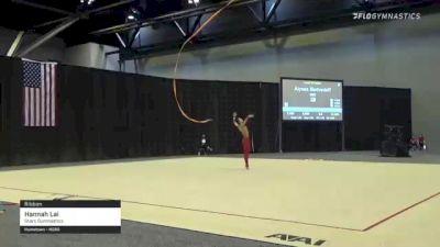 Hannah Lai - Ribbon, Stars Gymnastics - 2021 USA Gymnastics Championships