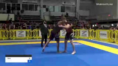 Sebastian Rodriguez Williams vs Sean Anthony Yadimarco 2021 Pan IBJJF Jiu-Jitsu No-Gi Championship