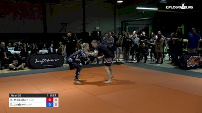 Kristin Mikkelson vs Sheliah Lindsey 2019 ADCC North American Trials