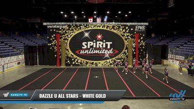 Dazzle U All Stars - White gold [2021 L1 Junior] 2021 PA Championship