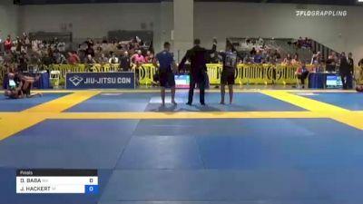 PATRICK BECKER vs ISAAC MOORE 2021 American National IBJJF Jiu-Jitsu Championship