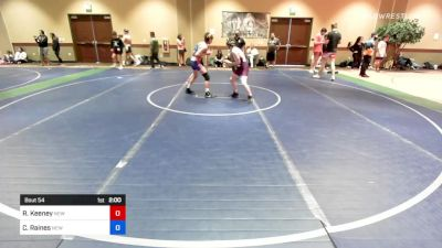 113 kg Semifinal - Ralph Keeney, New York vs Cael Raines, New York