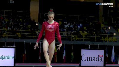 Emma Spence - Floor, Canada 1 - 2018 International Gymnix
