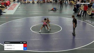 55 kg Rr Rnd 1 - Jesse YBARRA, Sunnyside Wrestling Club vs Robert Howard, TMWC/Bitetto Trained