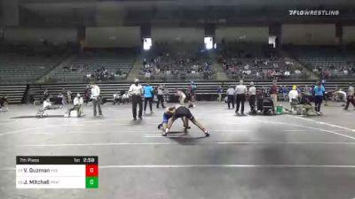 141 lbs 7th Place - Victor Guzman, Indian Hills vs Jacob Mitchell, Pratt