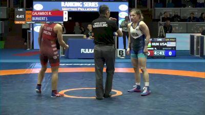 57 kg Jenna Burkert, USA vs Ramona Galambos, HUN