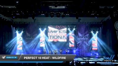 Perfect 10 Heat - Wildfire [2020 L3 Youth - D2 - Small Day 2] 2020 JAMfest Cheer Super Nationals