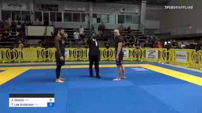 Jordan Dowdy vs Taylor Lee Anderson 2021 Pan IBJJF Jiu-Jitsu No-Gi Championship