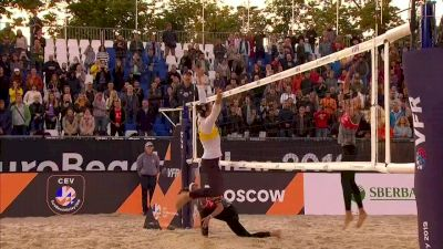 Full Replay - 2019 CEV Beach Volleyball European Final and Masters Women's Finals - CEV Beach Volleyball | (W) Finals - Aug 10, 2019 at 11:32 AM CDT