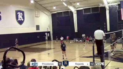 Replay: Providence vs Regents (Austin)   Oct 12 @ 7 PM