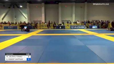 MICHAEL JALEN B. FONACIER vs NOAH ALEXANDER HAUSER 2021 American National IBJJF Jiu-Jitsu Championship