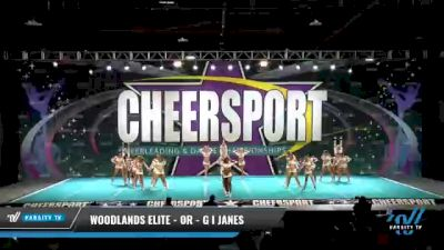 Woodlands Elite - OR - GI Janes [2021 L6 International Open - NT Day 1] 2021 CHEERSPORT National Cheerleading Championship