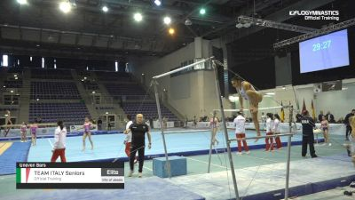 Team Italy Seniors - Bars, Official Training - 2019 City of Jesolo Trophy