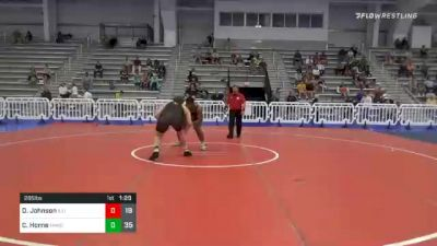 285 lbs Prelims - Dillan Johnson, Illinois Menace vs Chase Horne, Minion Legends