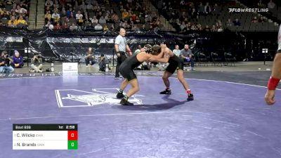184 lbs Consolation - Cash Wilcke, Iowa vs Nelson Brands, Iowa