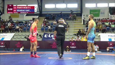 87 kg Rr Rnd 3 - Eric Abdiel Ramos Mojica, Panama vs Ronisson Brandao Santiago, Brazil