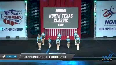 - Bannons Cheer Force Phoenix [2019 Junior - Small 3 Day 1] 2019 NCA North Texas Classic
