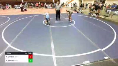 132 lbs Rr Rnd 4 - Jesse Johnson, Brandon Valley vs Mekhi Hayes, Lead/Deadwood Diggers