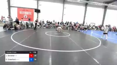 63 kg Quarterfinal - Jude Swisher, M2 Magicians vs Chris Crawford, Wyoming Valley RTC Blue