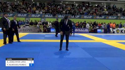 ALEXANDRE JOAQUIM DE JESUS vs PEDRO ALVES DOUTEIRO CRANFIELD 2020 European Jiu-Jitsu IBJJF Championship