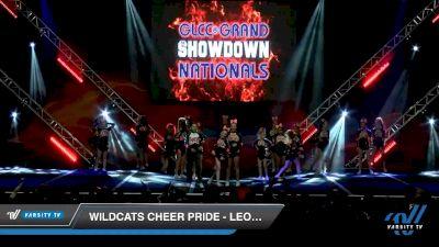 Wildcats Cheer Pride - Leopards [2020 L2 Junior - Small - B Day 2] 2020 GLCC: The Showdown Grand Nationals