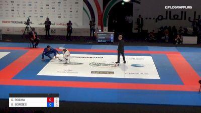 GUILHERME ROCHA vs BRUNO BORGES Abu Dhabi World Professional Jiu-Jitsu Championship