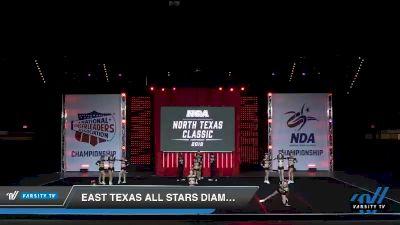 - East Texas All Stars Diamonds [2019 Senior 5 Day 1] 2019 NCA North Texas Classic