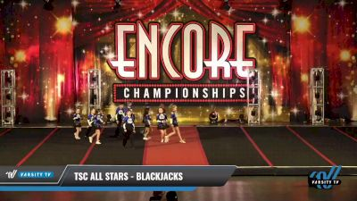 TSC All Stars - Blackjacks [2021 L1 Mini - D2 Day 1] 2021 Encore Championships: Pittsburgh Area DI & DII