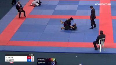 EIKE MOTA vs GABRIEL COSTA 2018 Abu Dhabi Grand Slam Rio De Janeiro